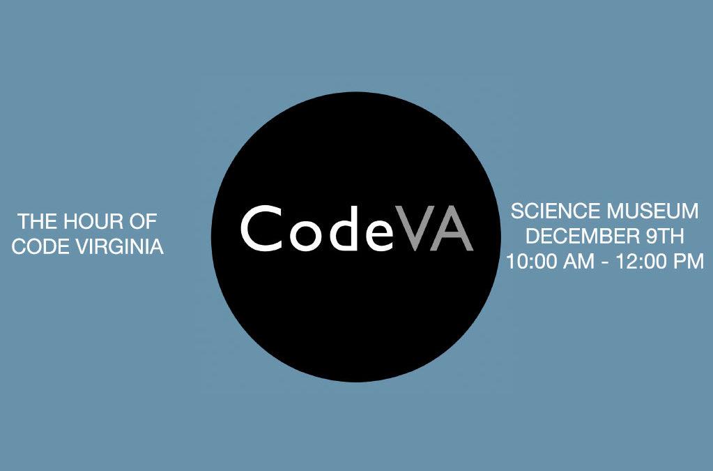 The Hour of Code Virginia: Featuring Shockoe.com