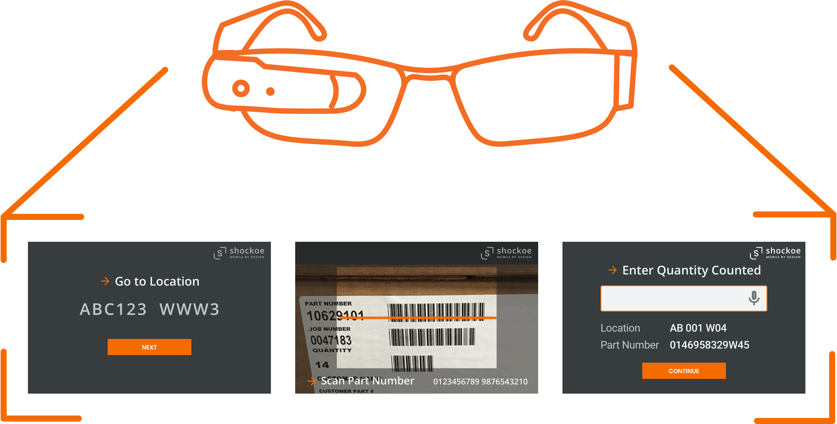 integrating with smart glasses