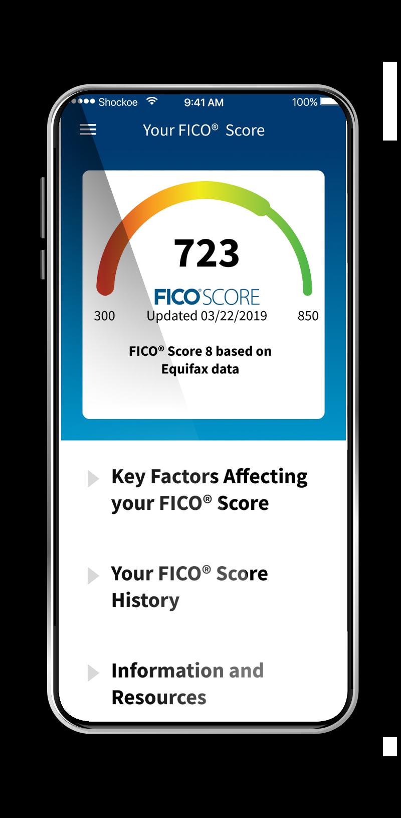 fico credit score app