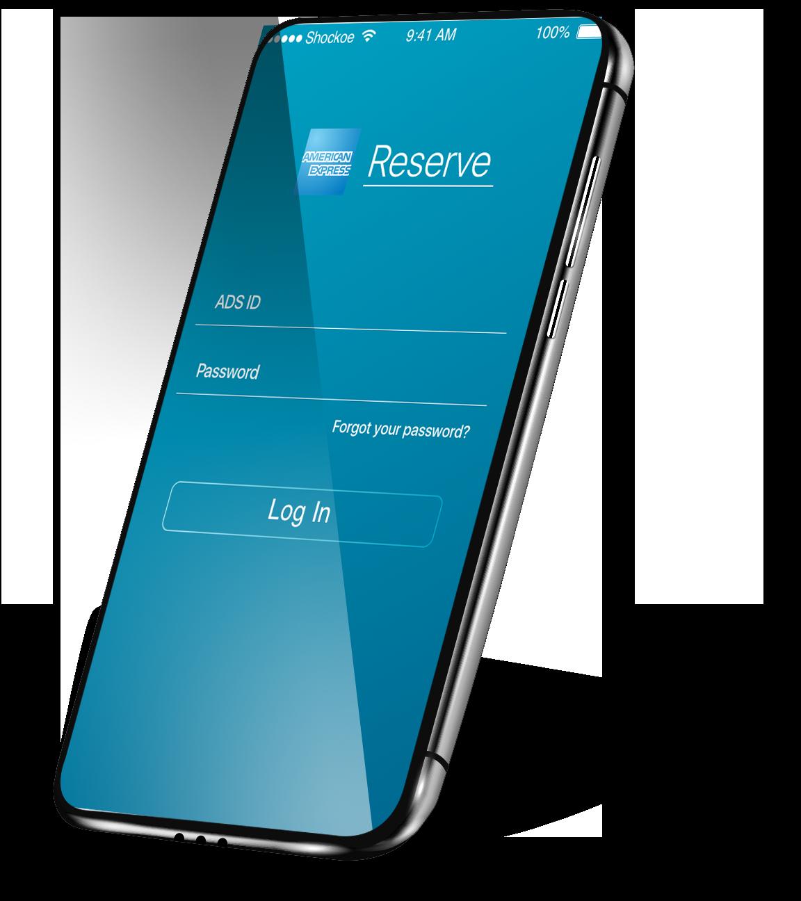 American Express mobile app